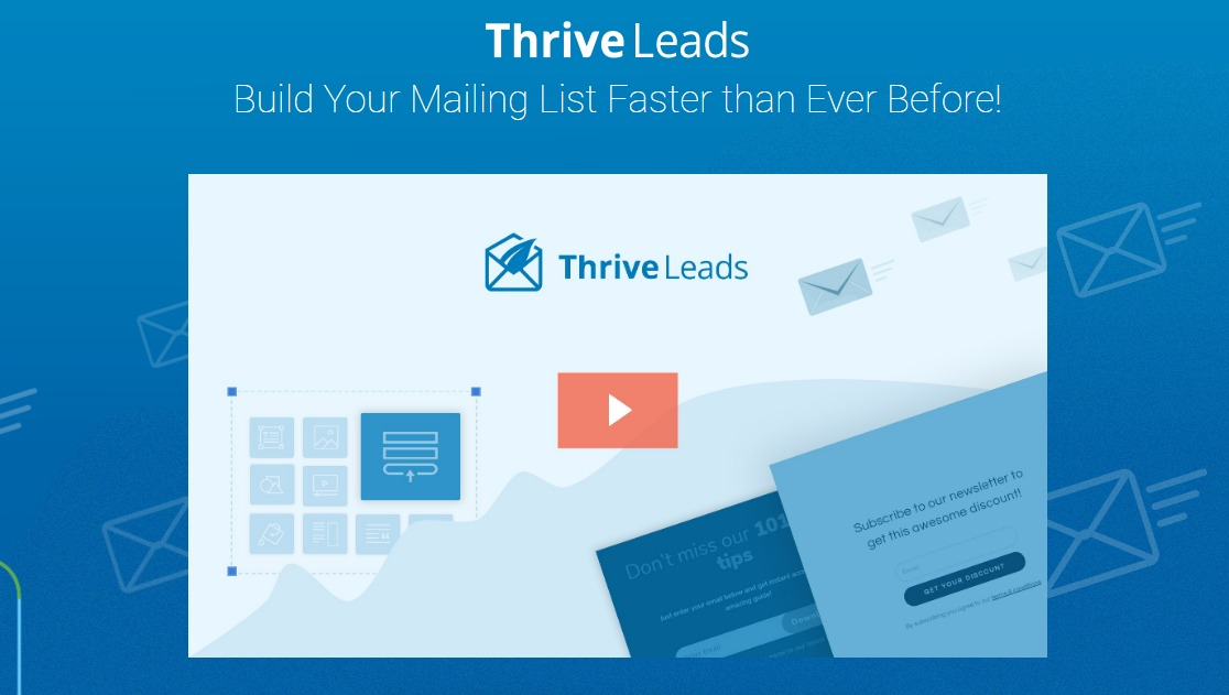 thrive leads email opt popup form Best WordPress Popup Plugins
