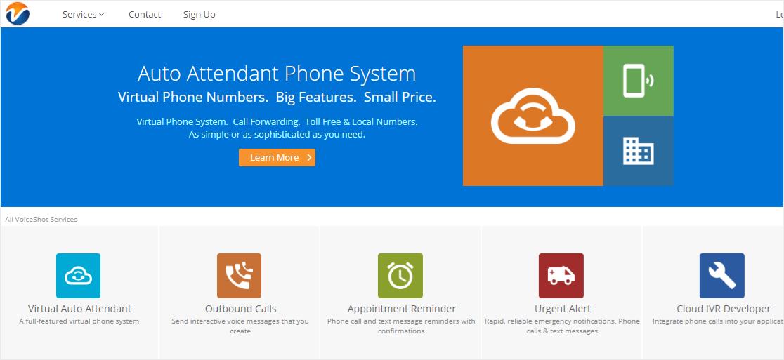 Voiceshot VoIP service