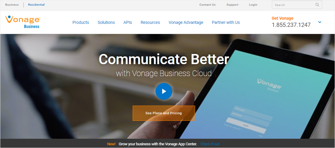 Vonage internet phone system