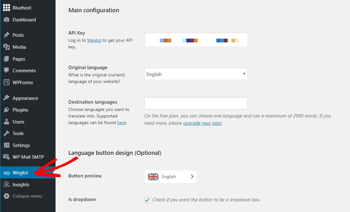 weglot multilingual wordpress website plugin