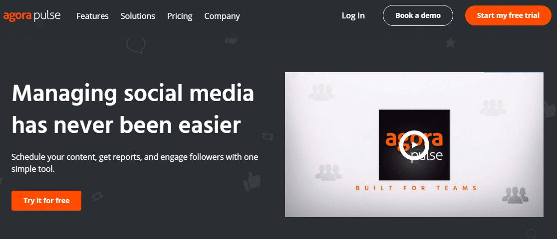 agorapulse social media marketing strategy