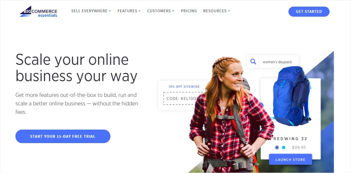 bigcommerce site builder for small business owners