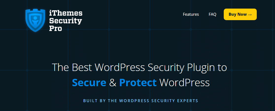 ithemes security pro wordpress sites