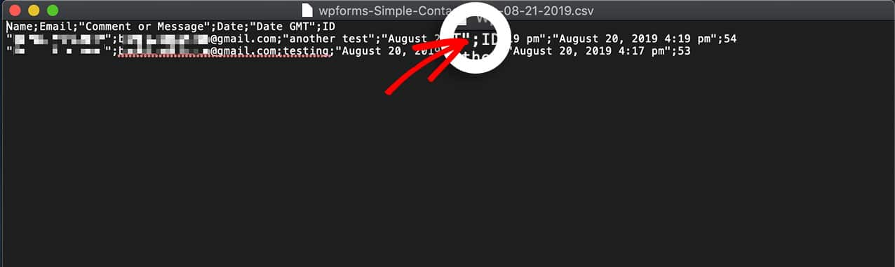 Changing the CSV delimiter from a comma to a semicolon