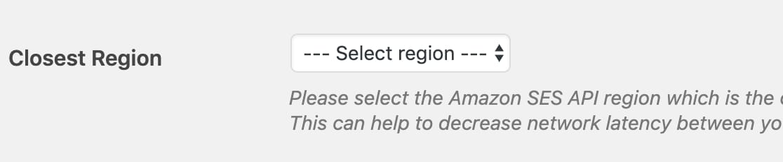 Choose-closest-region-option-in-WP-Mail-SMTP-settings