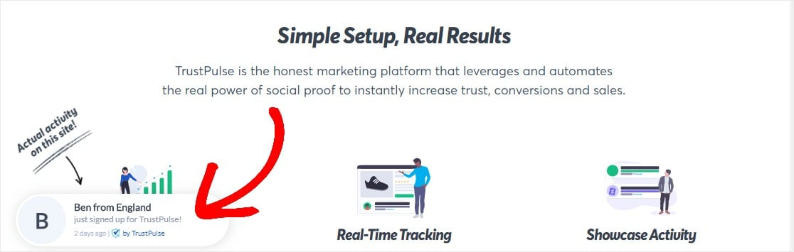 trustpulse example