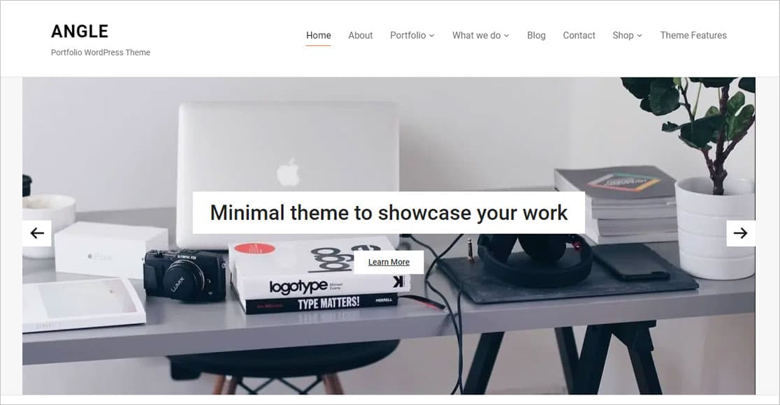Angle best wordpress themes for small business
