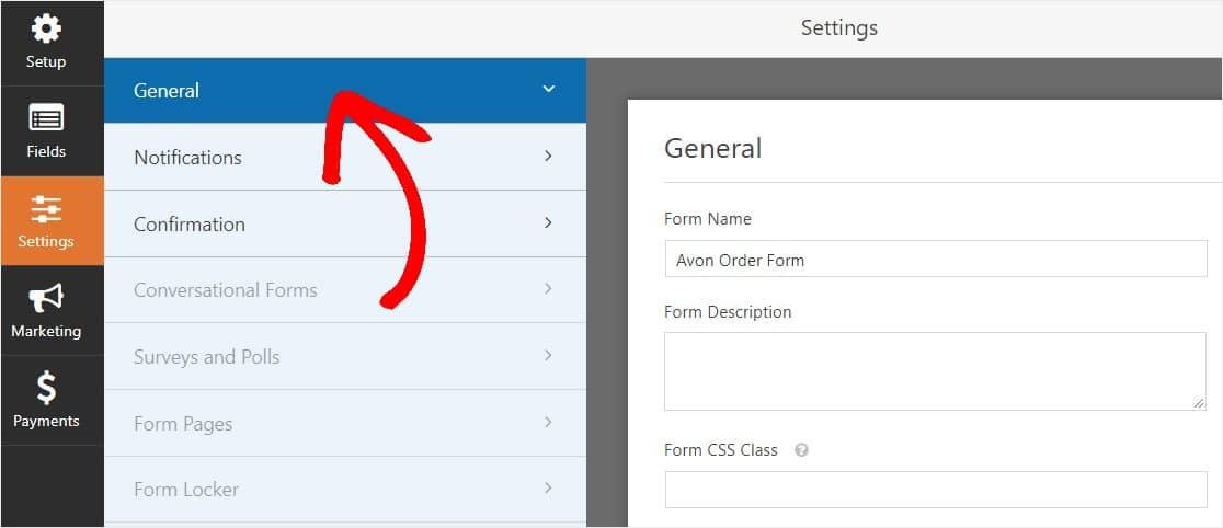 avon order form settings