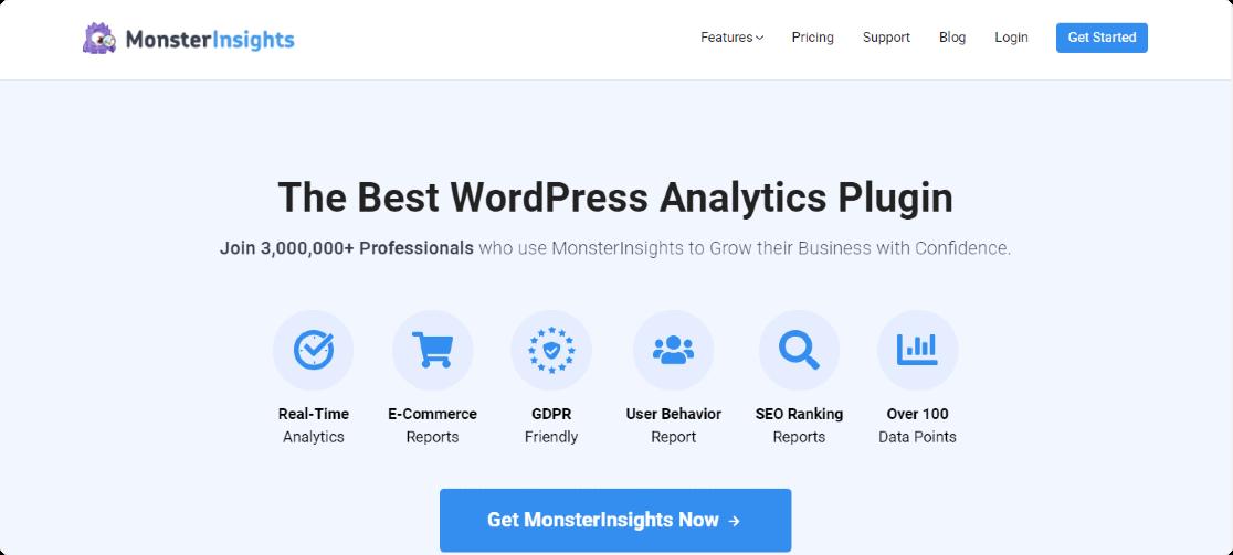monsterinsights pro plugin best wordpress plugins for affiliates