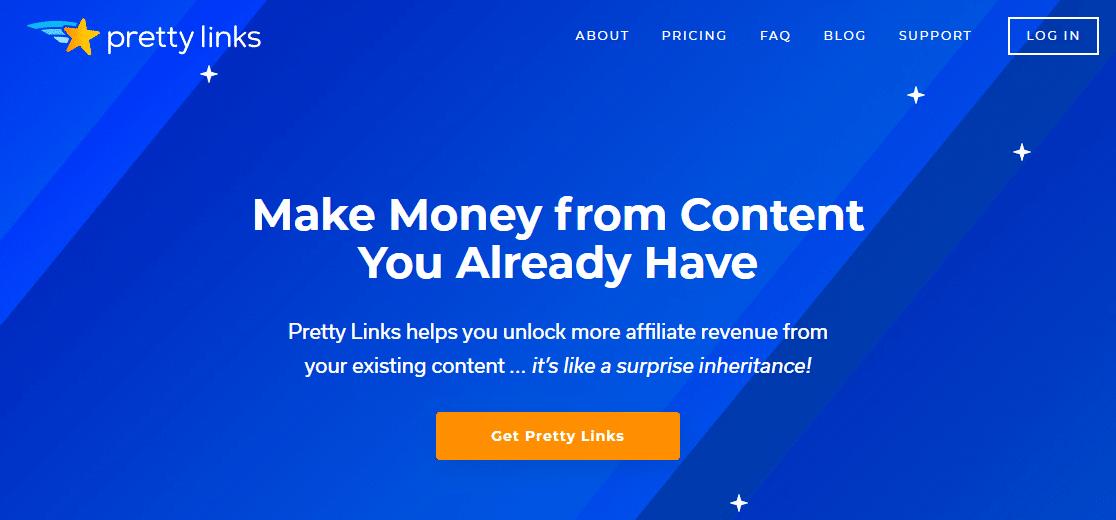 pretty links best wordpress affiliate plugins