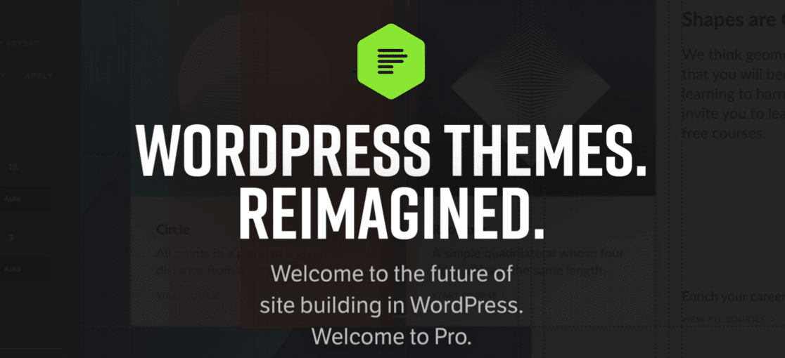 Pro theme by Themeco