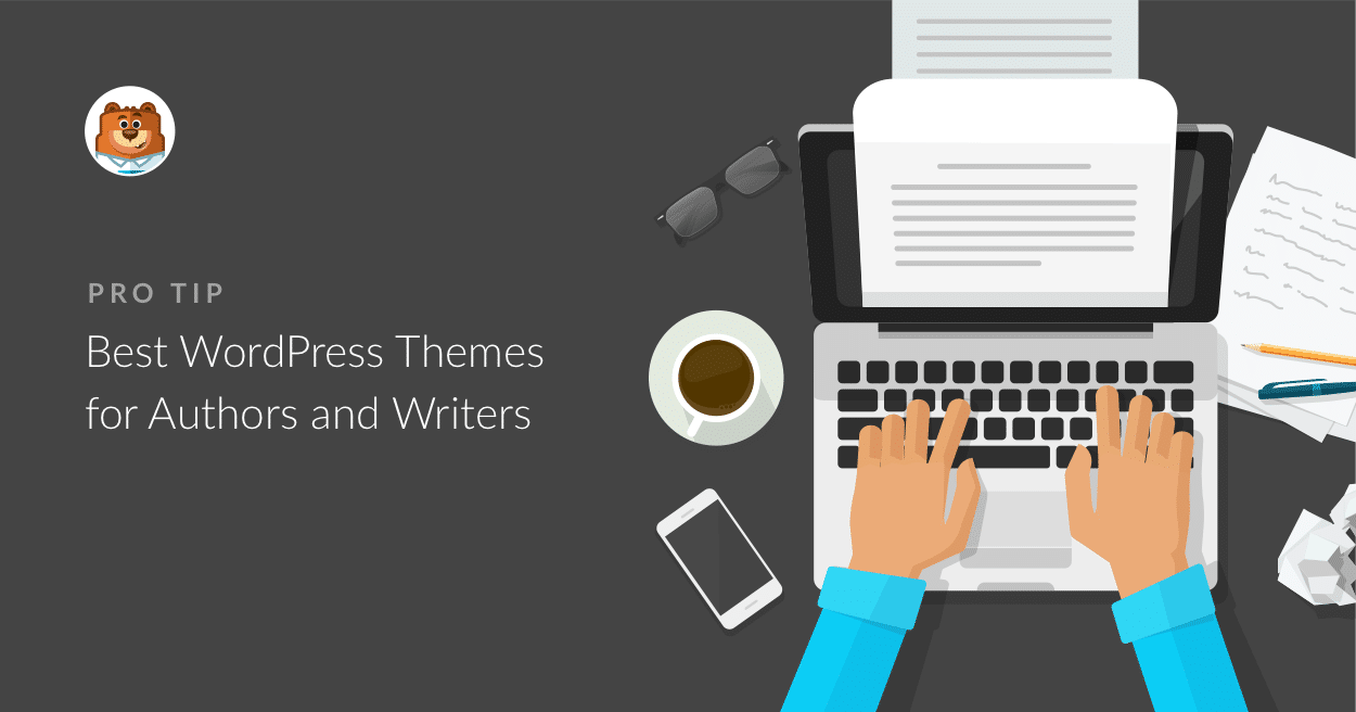 20 Best Wordpress Themes For Authors And Writers