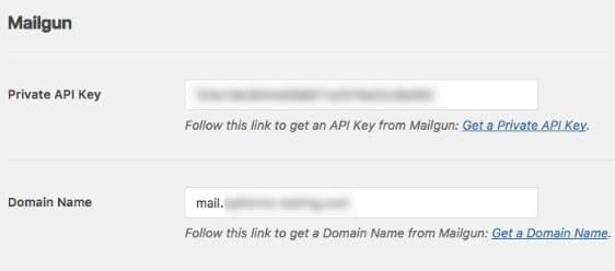 mailgun private api key page