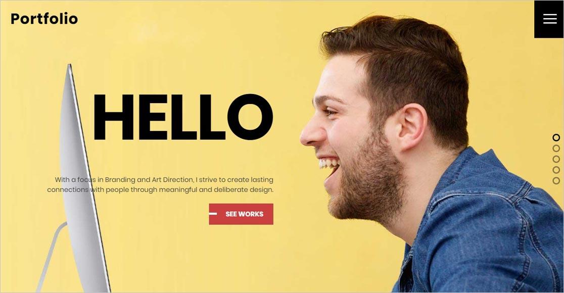 Ultra WordPress Writers Portfolio Theme