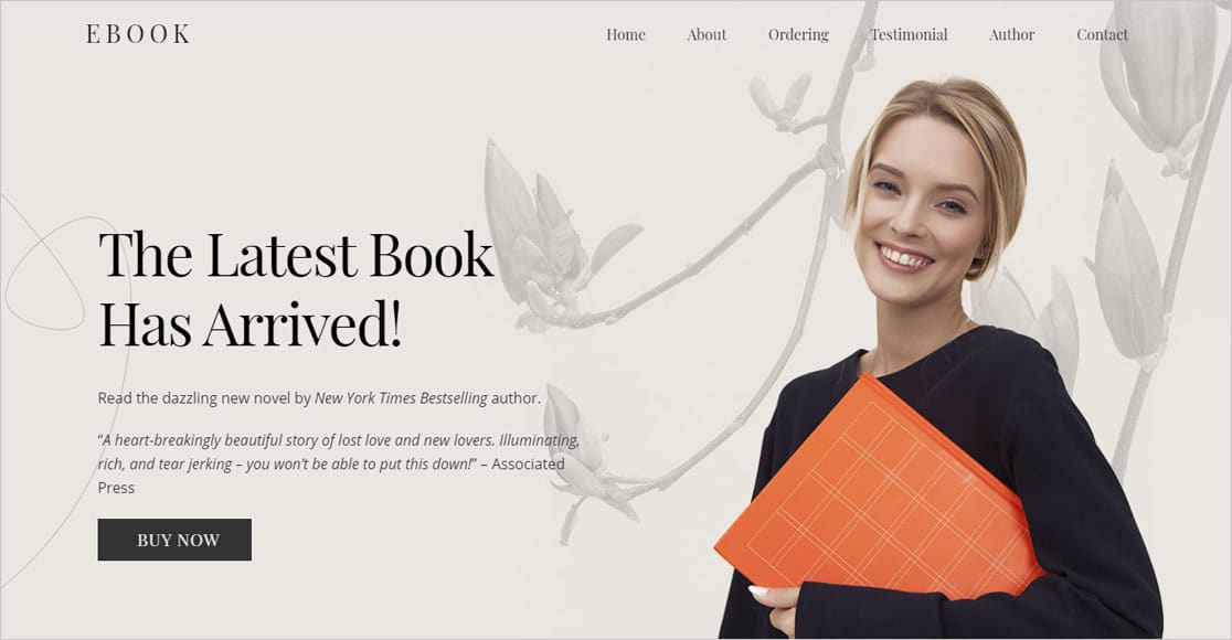 best wordpress themes for authors Ultra