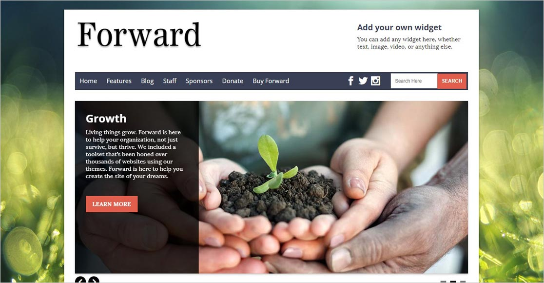 Forward best wordpress church themes