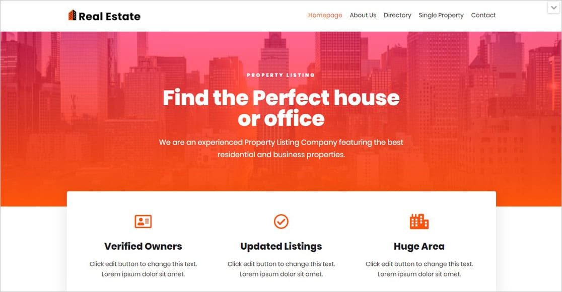 Neve - WordPress Real Estate Themes