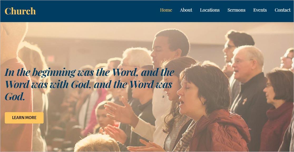 Ultra WordPress Church Theme