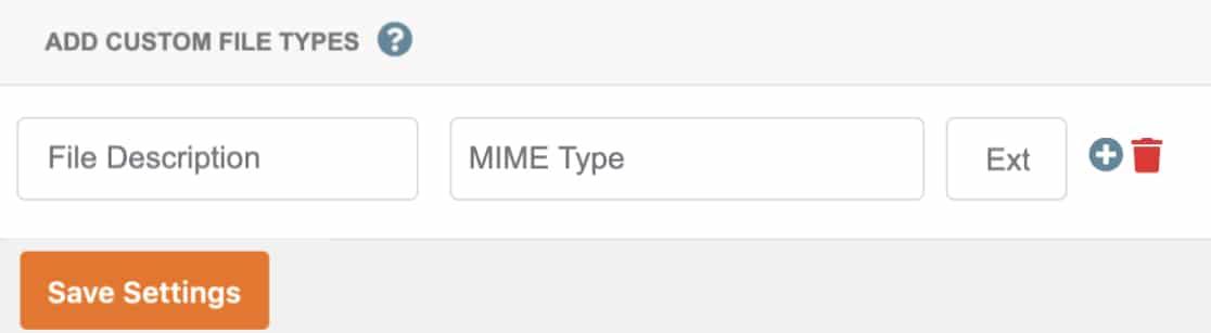 Add custom file type