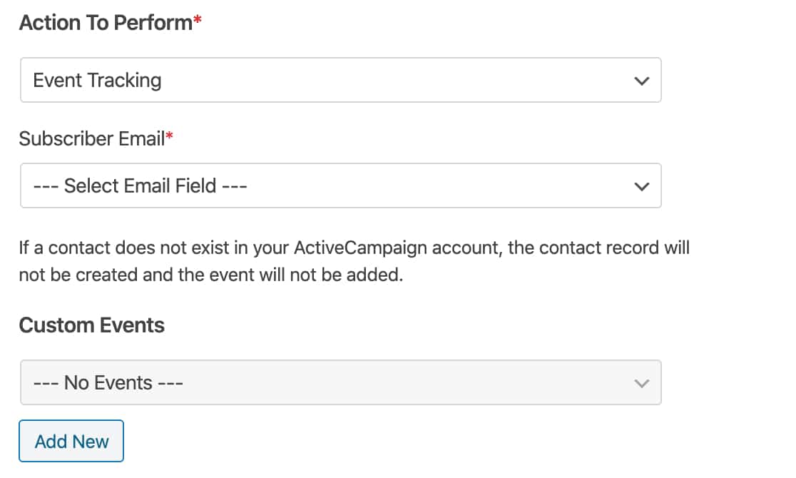 Event Tracking with ActiveCampaign