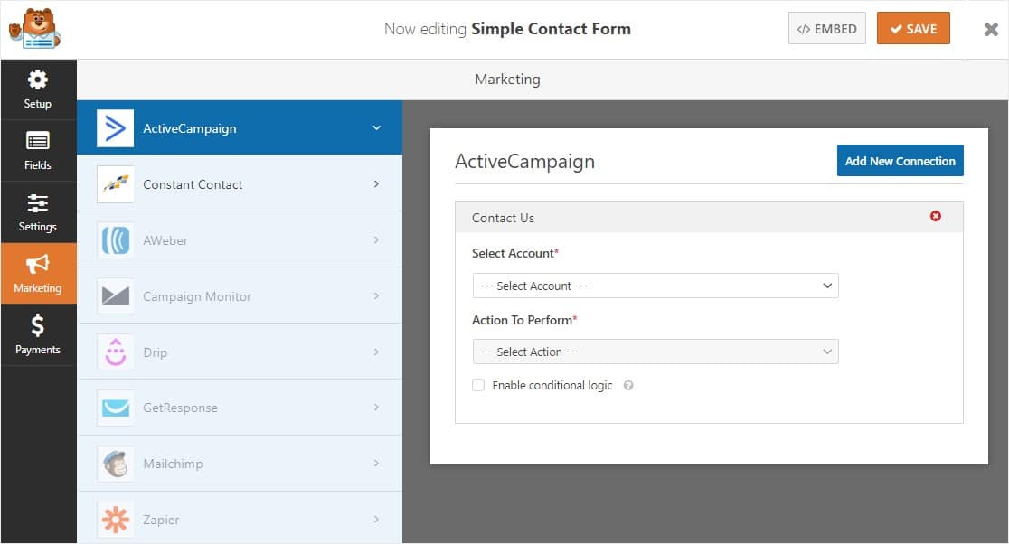 activecampaign integration