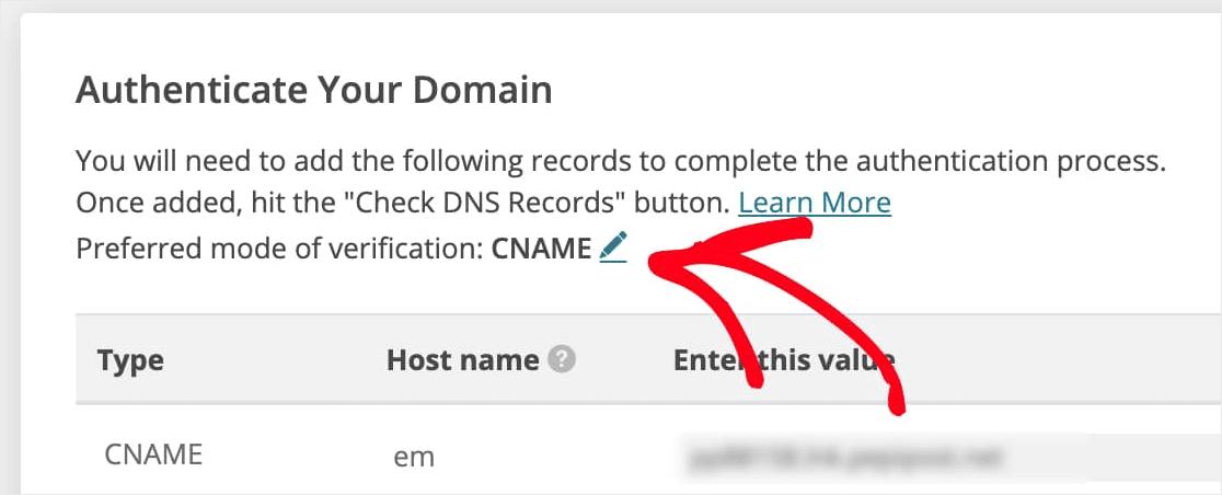 authenticate domain