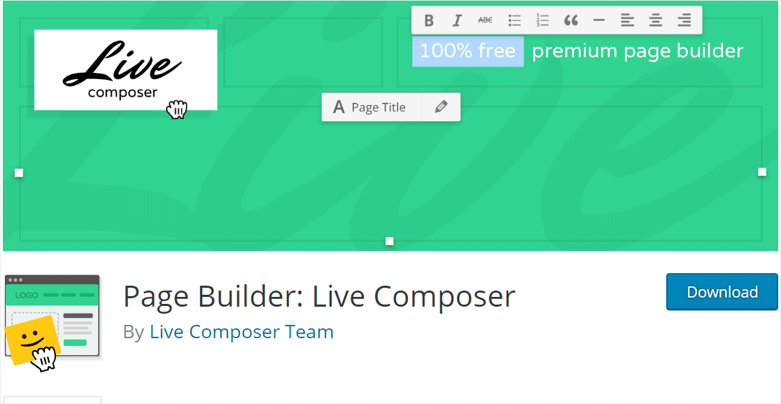live composer best wordpress page builders