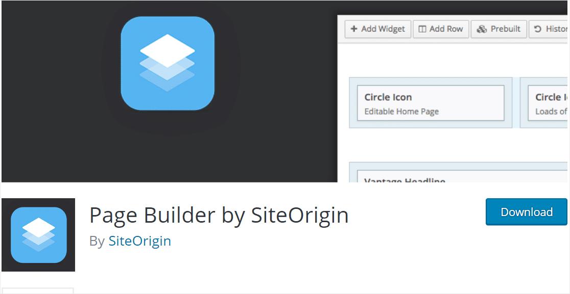 page builder by site original wordpress page builders