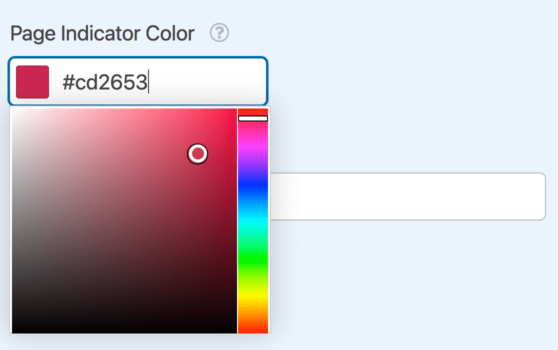 Changing the Progress Indicator color