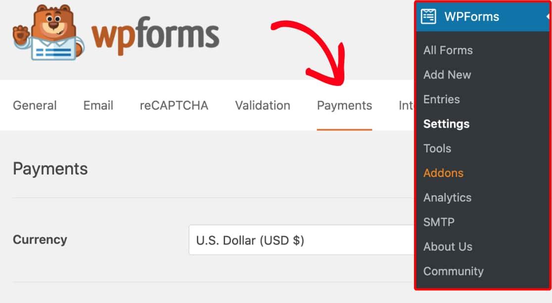 워드프레스 컨택트 폼 플러그인 WPForms에서 간단하게 결제 받기
