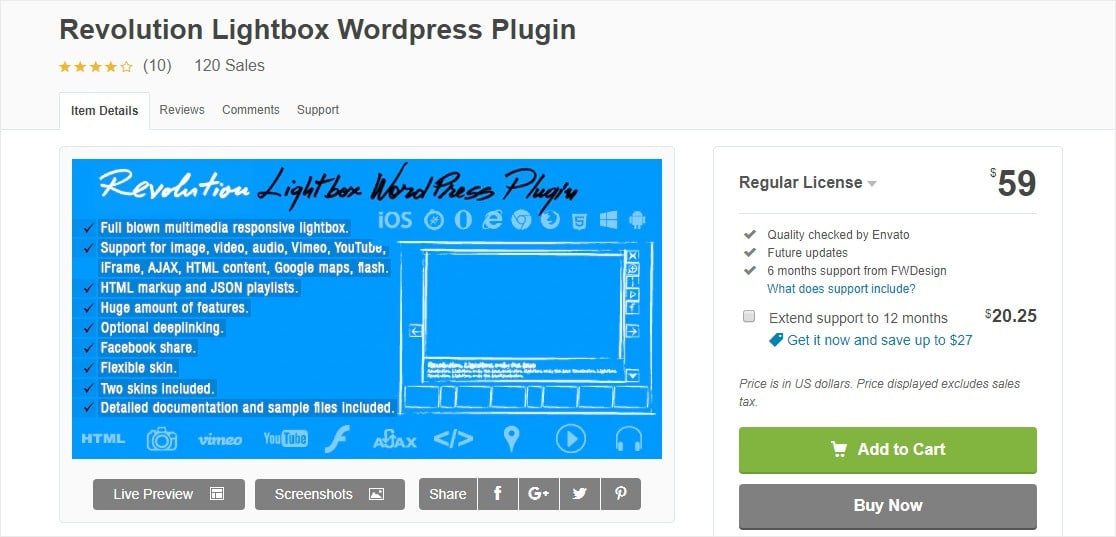 revolution lightbox wordpress plugins