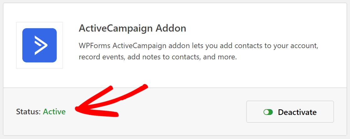 active addon