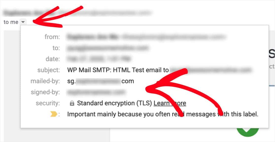 check domain auth email