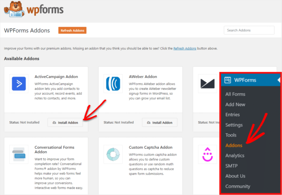Connecting WPForms And ActiveCampaign