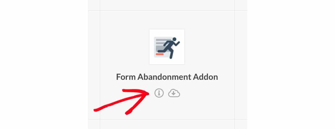 Open changelog for WPForms addon