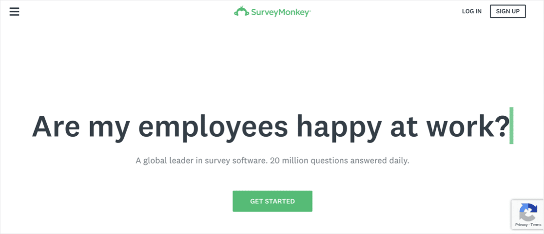 SurveyMonkey vs Google Forms: SurveyMonkey survey builder
