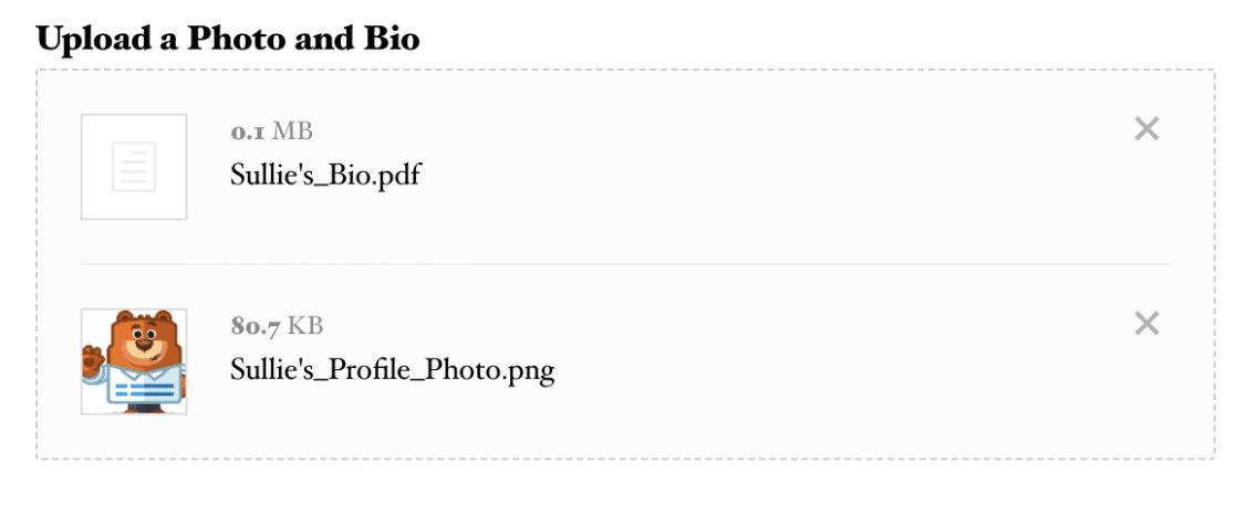 Modern File Upload Example