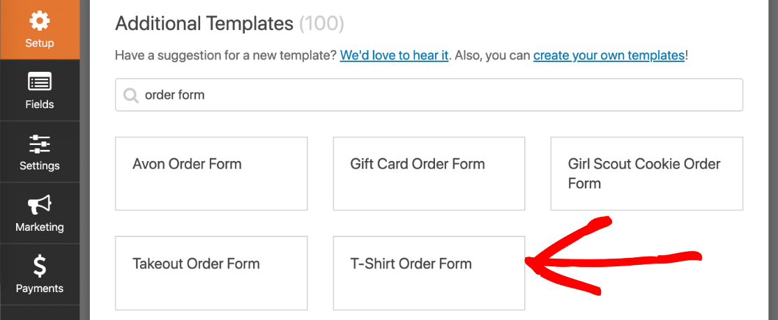 Authorize.net payment form template