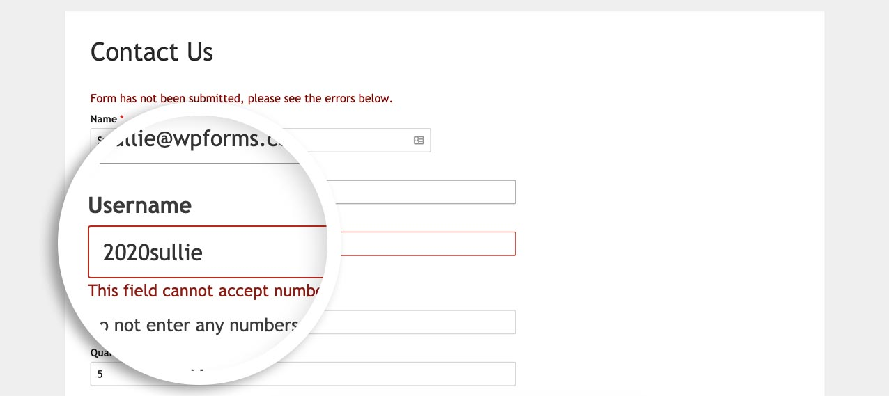 now you can restrict numbers in a single line text form field