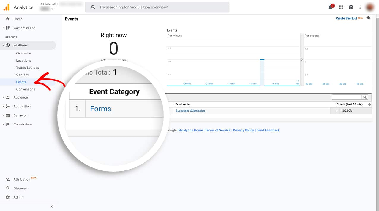 You can now track successful form submissions without the need of another plugin