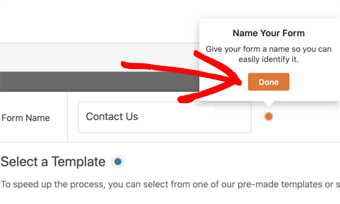 Complete Name Form Task