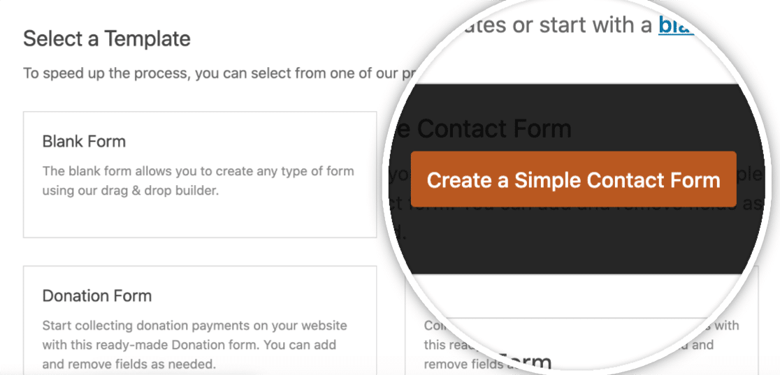 Create A Simple Contact Form