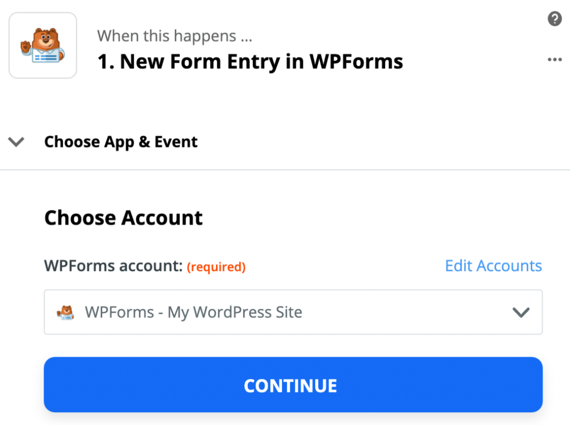 Connect custom GoToWebinar registration form to Zapier