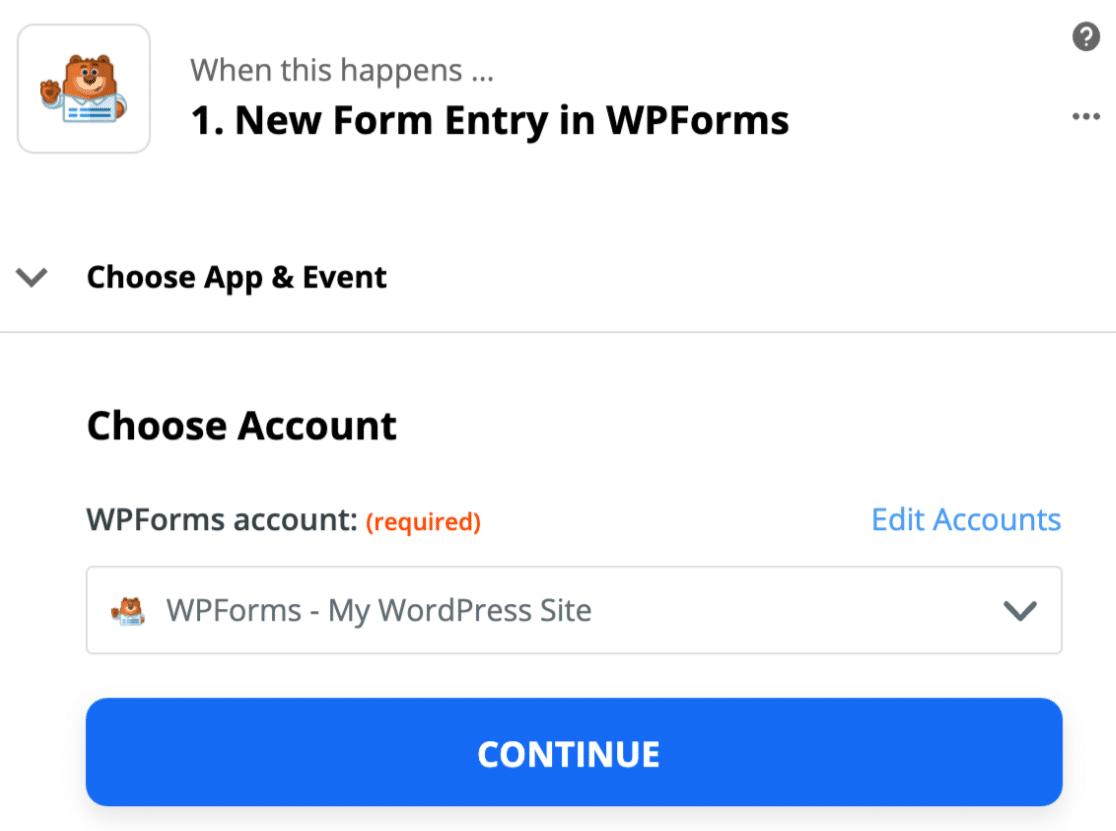 Connect custom GoToWebinar registration form to Zapier
