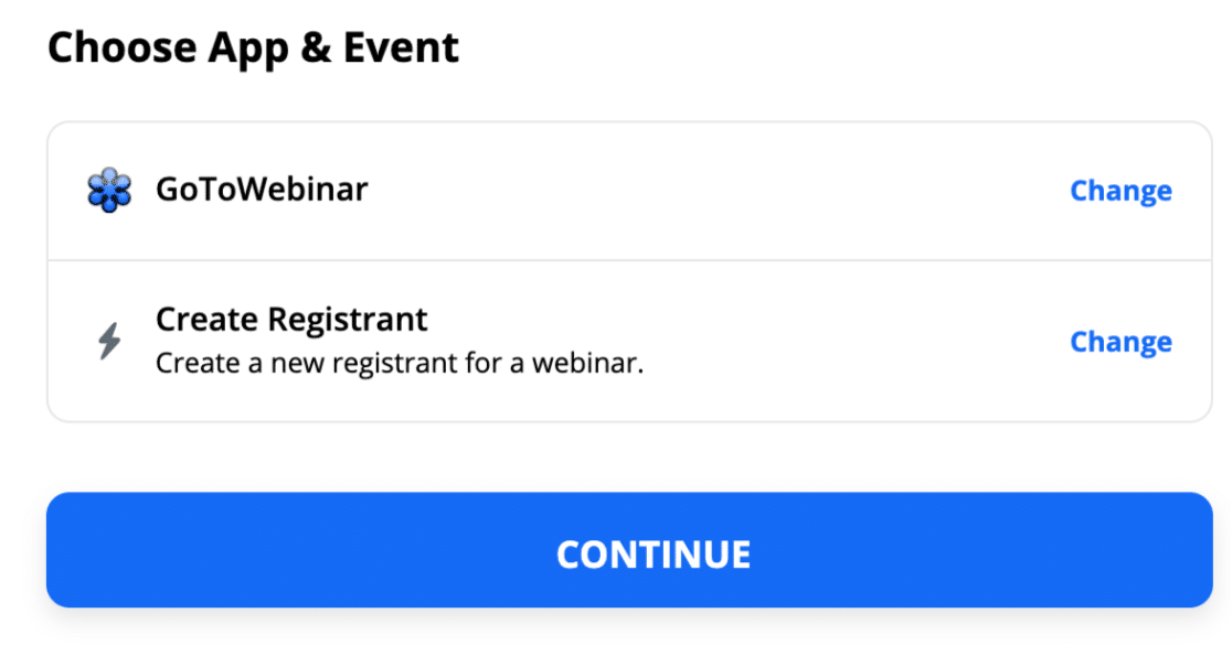 Create registrant from custom WordPress GoToWebinar form