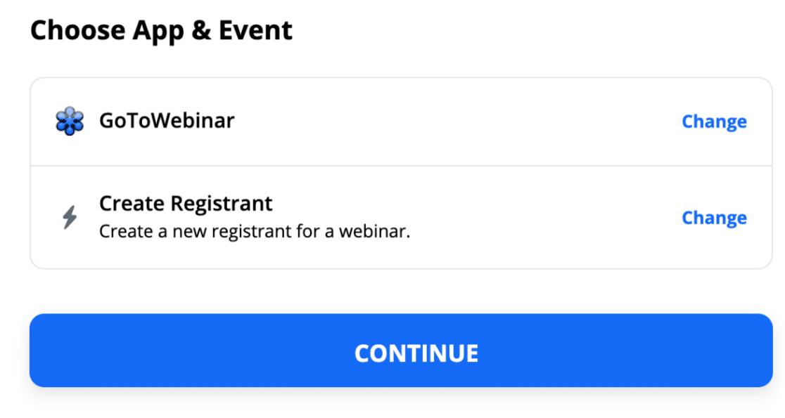 Create registrant from custom WordPress GoToWebinar form