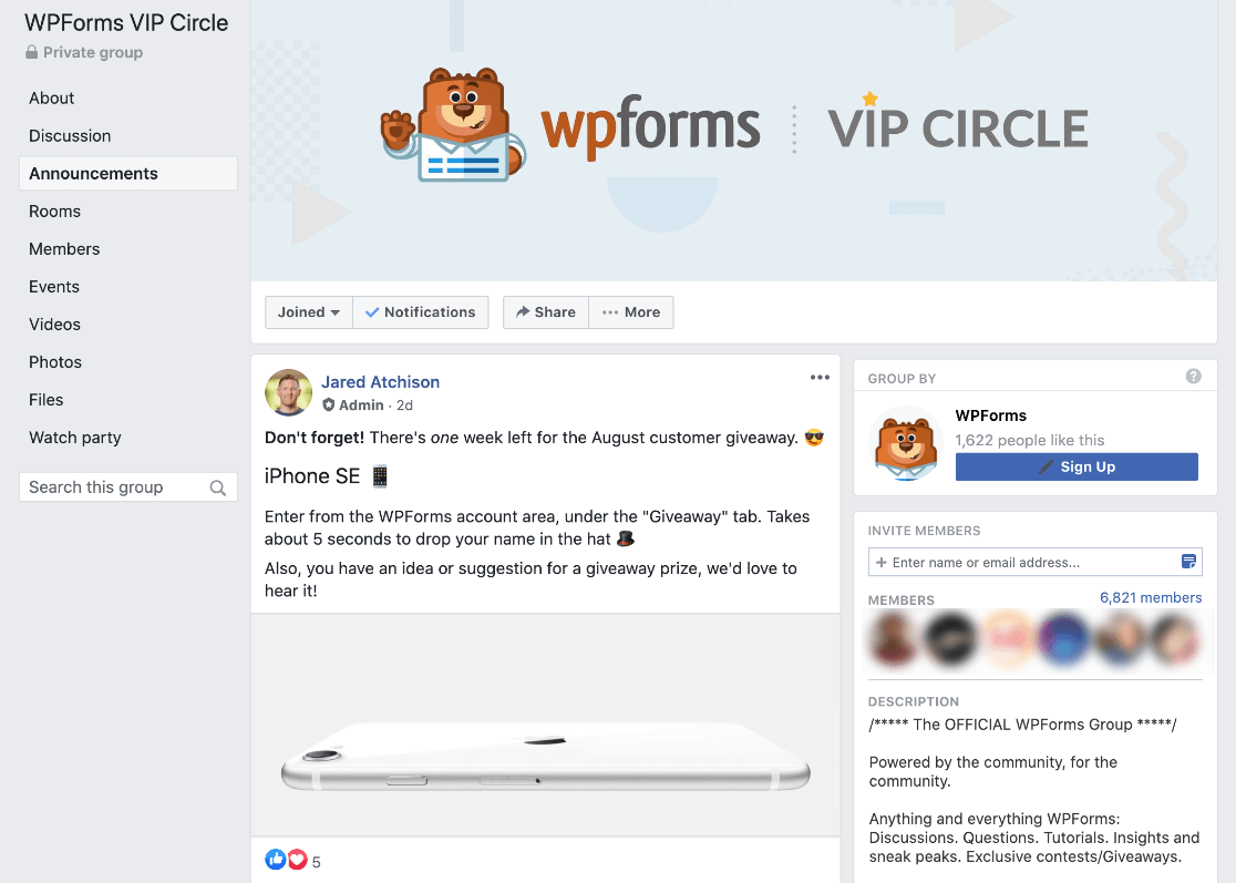 Get support in the WPForms VIP Circle