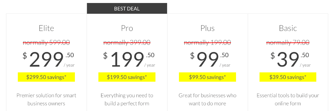 Is WPForms worth it? Full pricing info