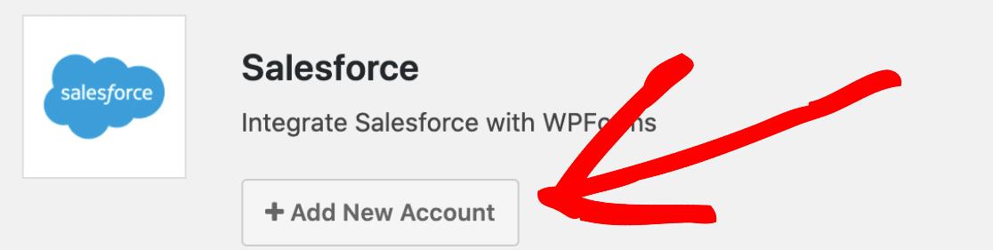 Add New Salesforce Account