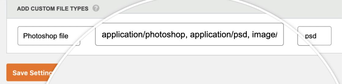 Photoshop alias MIME types